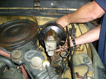 Busted Jeep Com In The Garage Yj Brakes On A Cj